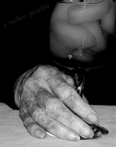 granny's hand
