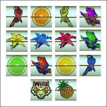 free Tropic Reels slot game symbols