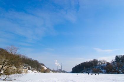 Зима в Житомире