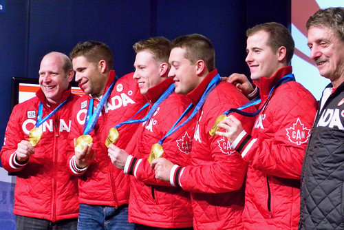 Gold medal curlers