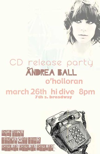 cd release be there!