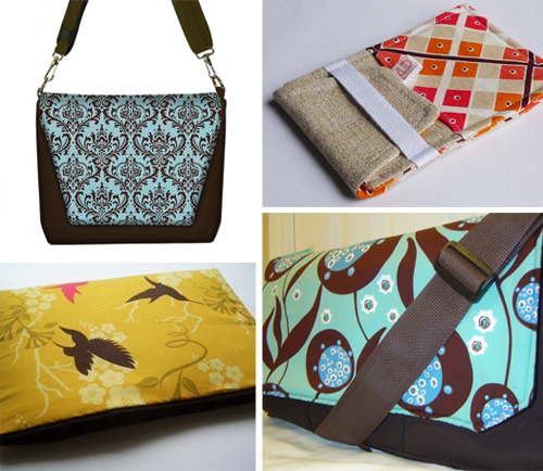 handmade laptop bags, camera cases and iphone cases