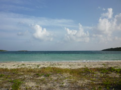 Beach in Vieques