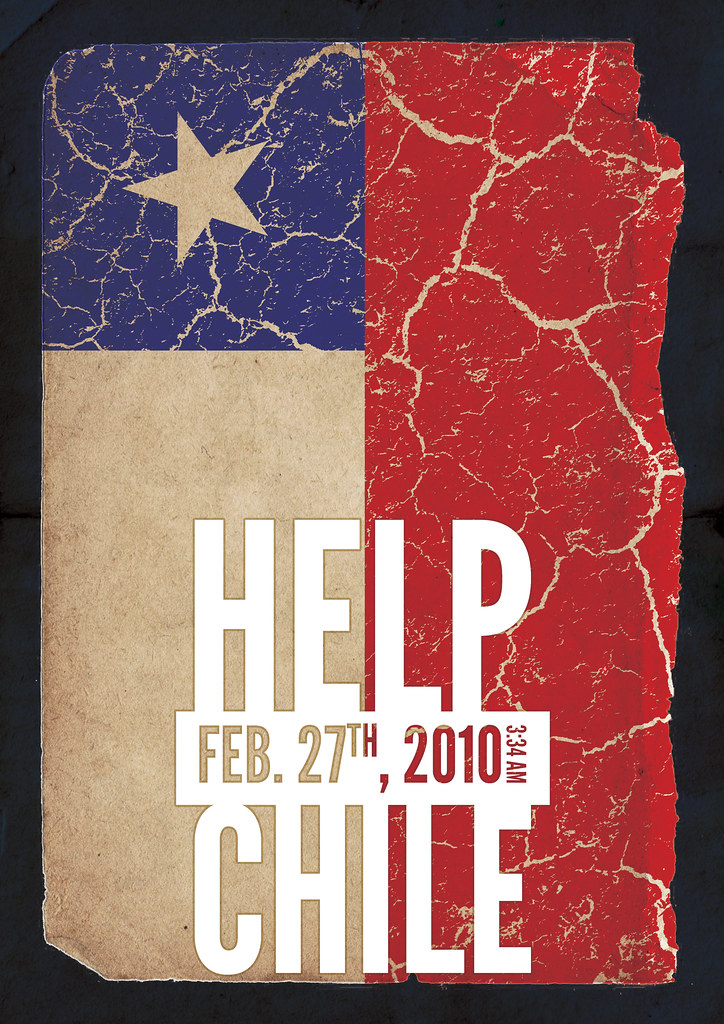 Design for chile - Help Chile - A3
