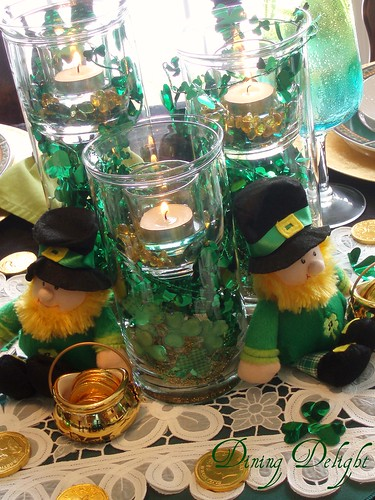 Dining Delight St Patrick S For Tablescape Thursday
