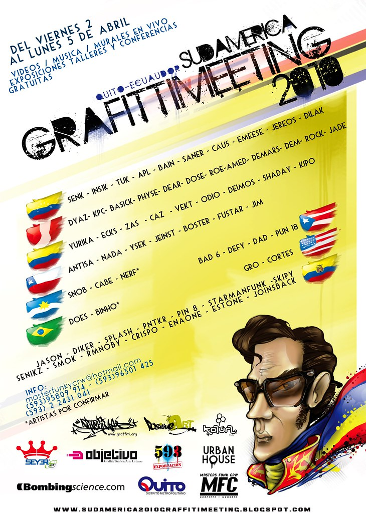 Poster Artistas Invitados