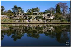 Bodnant - Pin Mill Terrace (Maria-H) Tags: pinmill terrace pool water reflection bodnant garden nationaltrust nt wales uk panasonic g1 dmcg1 bej 714