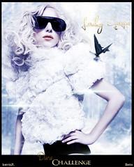 Lady GaGa - Diva Challenge (kervinrojas) Tags: cold lady butterfly telephone diva challenge gaga blend betto kervinroajs