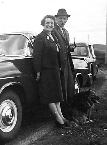 Peggy and Gilbert McLean,1950s