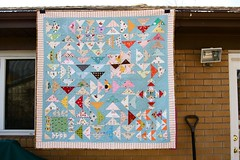 crazy geese quilt by a quilt is nice