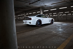 Ferrari 575M Rear (Mike Boldt) Tags: mike photography photo nikon wheels ferrari exotic modified nikkor fx f28 supercar maranello brembo hre 575m boldt 2470mm bigbrakes d700
