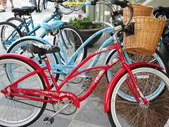 Watercolor Florida Bike Ride