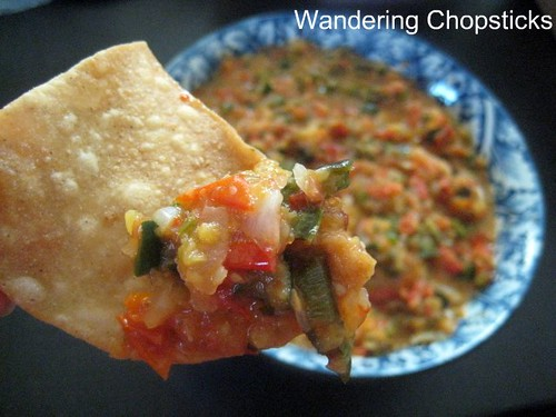 ... : Vietnamese Food, Recipes, and More: Roasted Pineapple Tomato Salsa