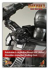 War Machine de Iron Man 2 (GEEK ASiA) Tags: ironman figurine warmachine hottoys