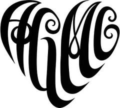 """""""AGMC"""" Heart Design"""