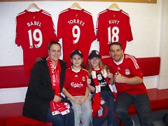 anfield changing rooms (dudes2010) Tags: jason photos dude joanne dudes leyland menzies dudette