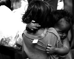 Hold On (paocasti) Tags: bw white black kid sister brother pao bata hold casti ulingan paocasti