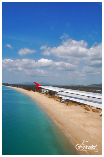 phuket landing