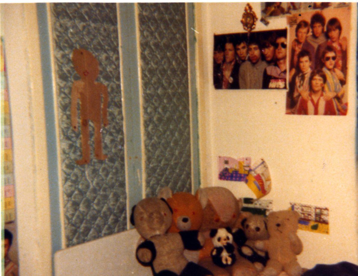 Bedroom of Margaret Gilligan, Langness Road, Cranhill, 1970s.