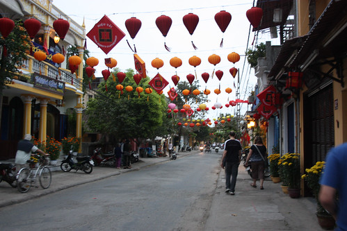 The old town in Hue