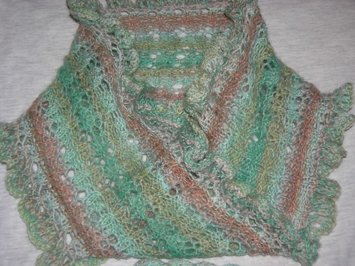Cable & Lace Moebius Scarf