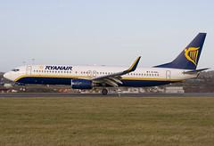 EI-DAL - 33718 - Ryanair - Boeing 737-8AS - Luton - 080106 - Steven Gray - IMG_9721