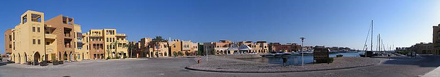 Panorama photo no. 25 - Egypt, El Gouna