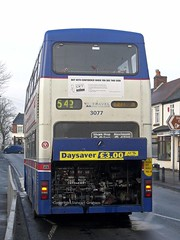 3077 failed on Bilston Street, Sedgley (MCW1987) Tags: 545 metrobus mcw 3077 sedgley mk2a f77xof