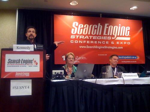 Real Time Search panel - Larry Cornett speaking