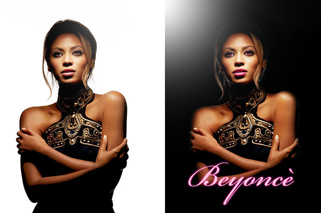 Beyonce BEFORE - AFTER by NO*ONE*EVER*REALLY*DIES*