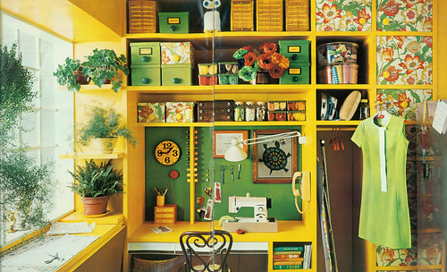 1972 simplicity sewing room