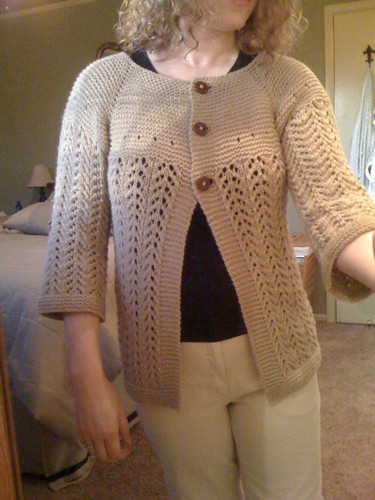 February Lady Sweater - DONE