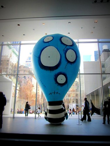 Tim Burton Exhibit at MOMA in NYC