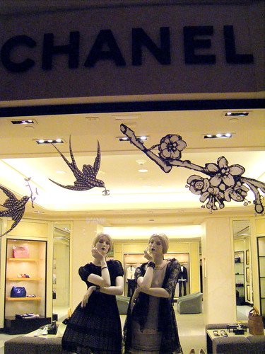 Chanel Window Display Las Vegas