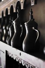 pots (Dhowayan (Abu Yara)) Tags: light coffee natural pots