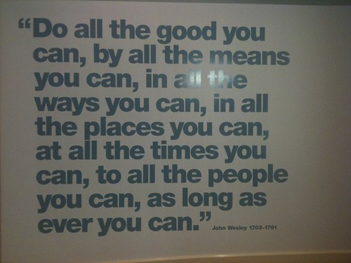 """""""Do good"""" - words to live by"""