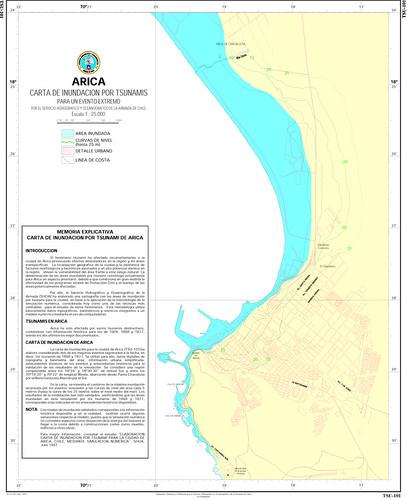Carta de inundación Arica
