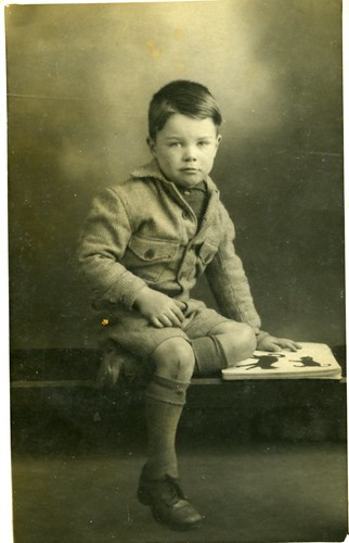 Gilbert White Age 5, 1940s
