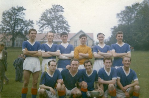 Royal Infirmary Football Team 1960