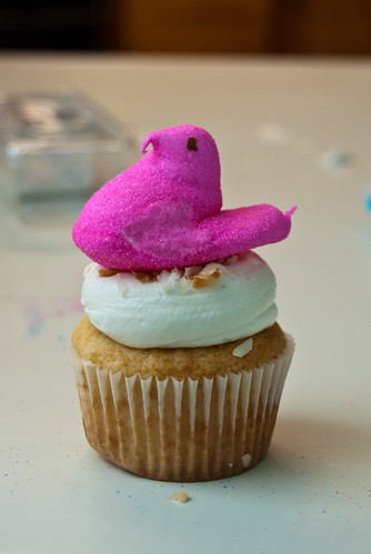 Peep  Cupcake