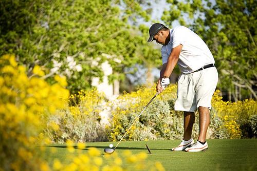 Trent Golfing1