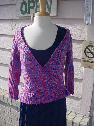 Larkspur Wrap Sweater