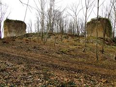 Chteau de Saint Germain - Bugey - Ain (Vaxjo) Tags: france castle ruins 01 saintgermain chteau middleages castillo rocca castelli forteresse ruinen ruines ain moyenge mdievale rhnealpes bugey ambrieuenbugey
