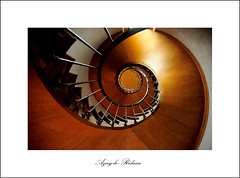 Azay-le-Rideau (S. Lo) Tags: travel france castle spiral staircase loire chteau azaylerideau thechallengefactory