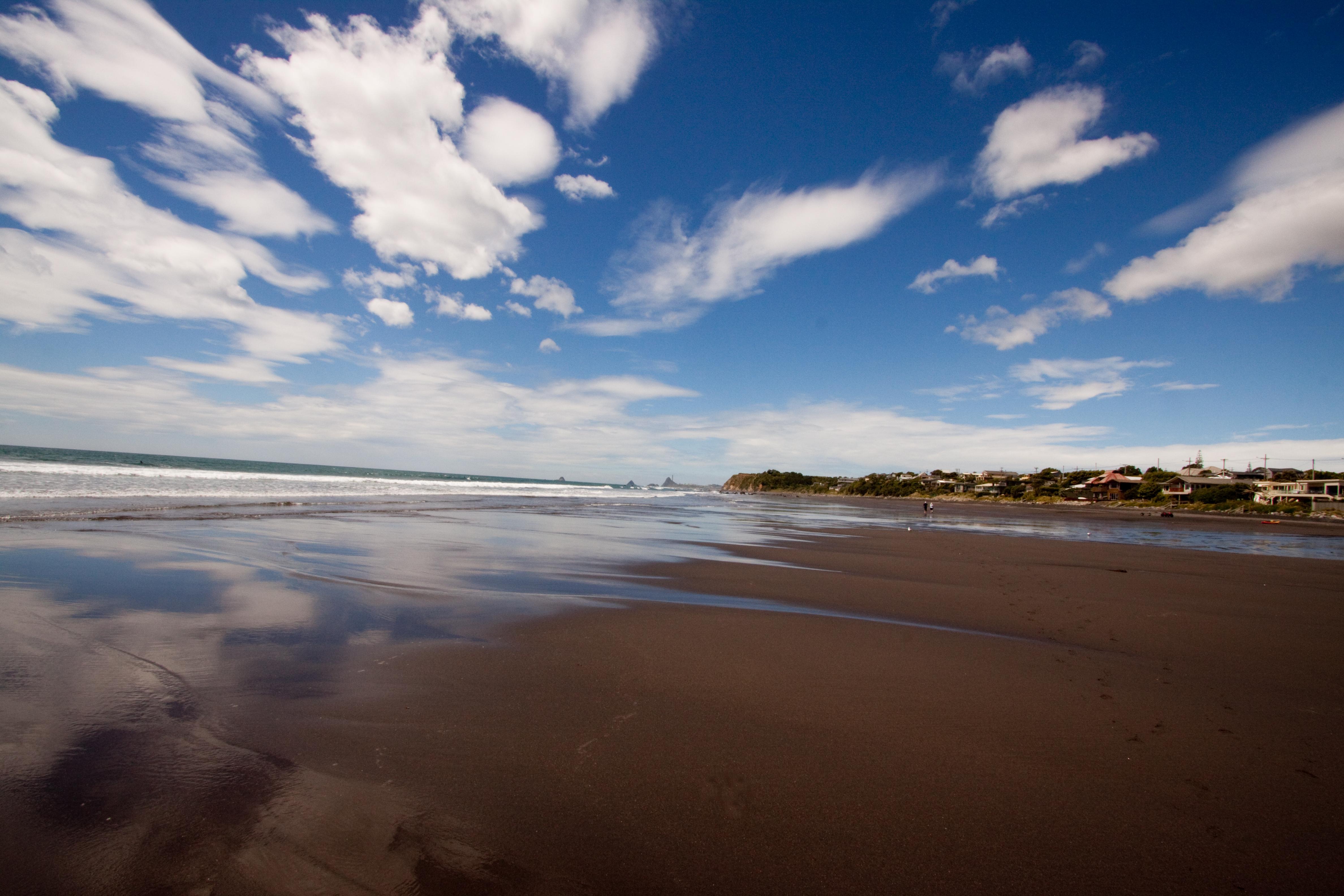 Oakura Beach zeland