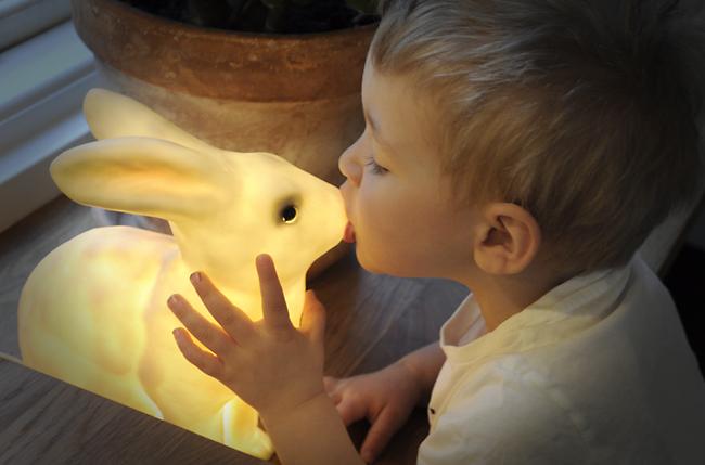 älskar kaninlampan