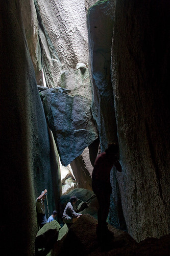 Inside the Cave on South Bald Rock