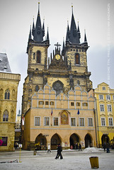 Church of Our Lady Before Tn (MM_Andamon) Tags: churchofourladybeforetn staromstsknmst oldtownsquare prague czechrepublic nikon nikond200 d200 18200mmvr religioussquare civicsquare easterneurope europe gothicarchitecture churcharchitecture winter