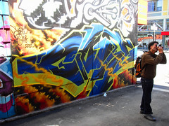 Giant (@ll_by_myself) Tags: art mike giant graffiti alley san francisco clarion 2010