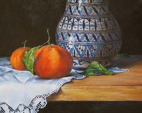 20100405 Moroccan Vase 16x18
